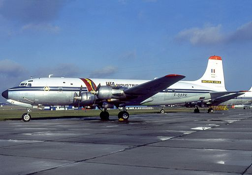 Douglas DC-6B, UTA Industrie (Securite Civile) AN0575828