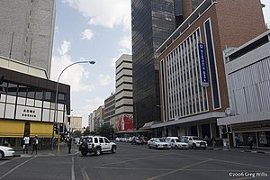 Downtown Windhoek, Independence Avenue