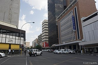Namibia - Downtown Windhoek