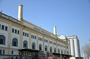 Dreher Breweries - The headquarters in Kőbánya, Budapest