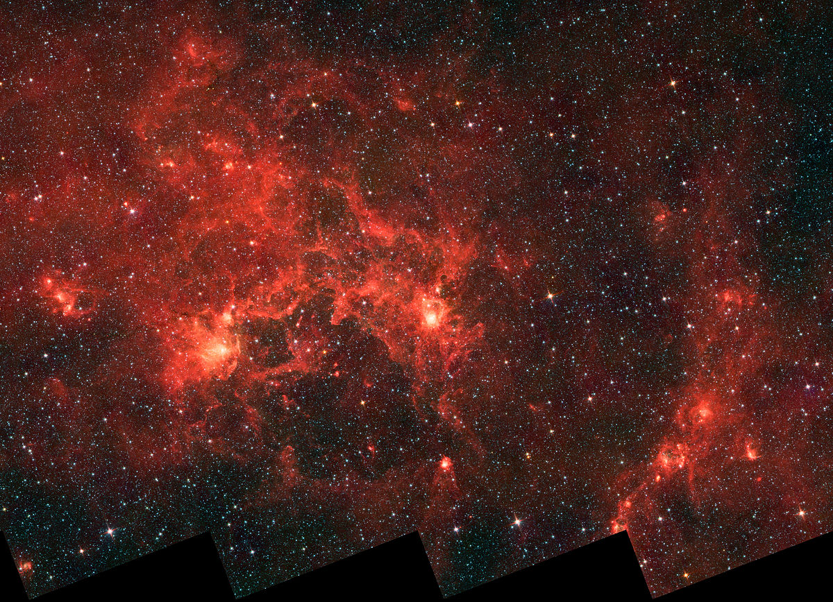 Sources first infrared source in crux wikiversity - Orange space wallpaper ...