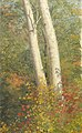 Drawing, Birch Trees in Autumn, October 1865 (CH 18200359).jpg