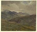 Drawing, Blue Hills and Gray Clouds, Jamaica, May–August 1865 (CH 18200683).jpg