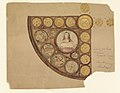 Drawing, Design for Rose Window, St. John the Baptist, Brooklyn, NY, 1905 (CH 18439633).jpg