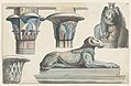 Drawing, Egyptian Antiquities, 1832 (CH 18544113).jpg