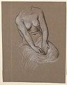 Drawing, Female torso study, ca. 1885 (CH 18404551).jpg