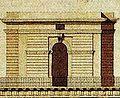 Dresden Drittes Belvedere Ausgeführter Fassadenentwurf von Christian Friedrich Schuricht Variante 3.jpg