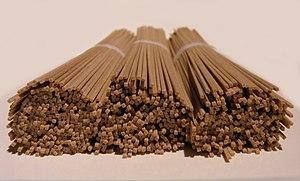 Soba - Image: Dried soba noodles by Fotoos Van Robin