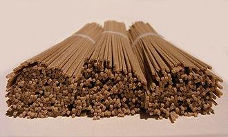 Soba - Dried soba noodles