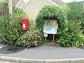 Drimpton, postbox No. DT8 106 and covered noticeboard - geograph.org.uk - 935824.jpg