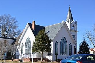Driver Historic District - Beech Grove United Methodist Church