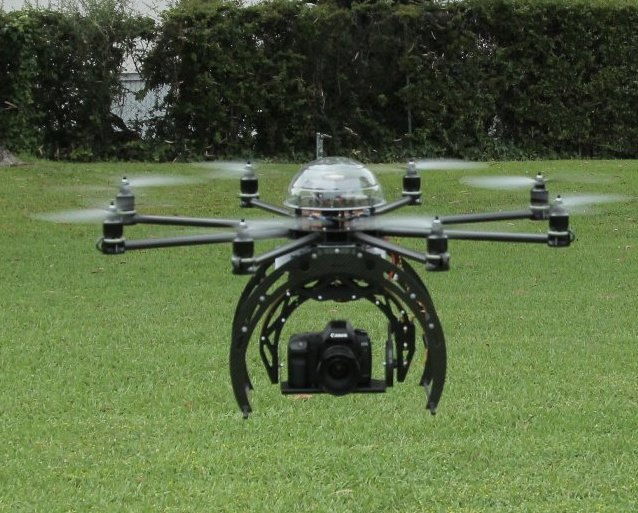 Drone Flying Eye
