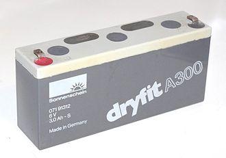 VRLA battery - Dryfit A300 Gel battery