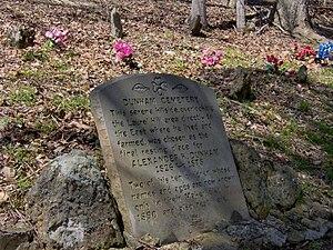 Edgar Evins State Park - Dunham Cemetery