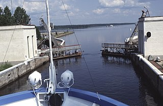Volga–Baltic Waterway Series of canals and rivers in Russia