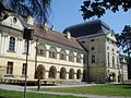 Dvorac Pejačević, Virovitica - jugozapad.JPG