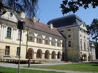 Virovitica - Image: Dvorac Pejačević, Virovitica jugozapad