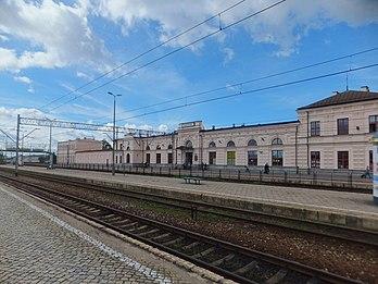 Dworzec kolejowy Białystok perony