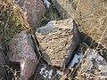 Dzagavank (cross in wall) (83).jpg