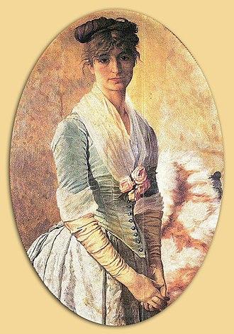 Osman Hamdi Bey - Image: Eşi Naile Hanım Osman Hamdi