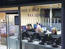 Internet café a Edimburgo