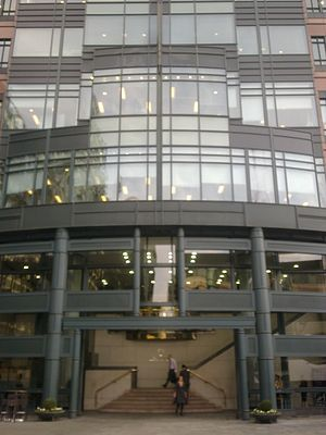 European Bank for Reconstruction and Development - EBRD headquarters in London
