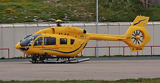 Scottish Ambulance Service - G-SASN - A Babcock operated H145, with the callsign 'Helimed 02'