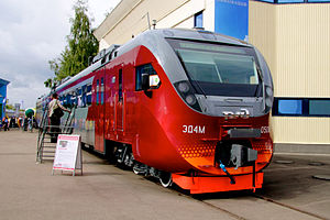 Transmashholding - Image: ED4M 0500 local train (Электричка ЭД4М 0500)