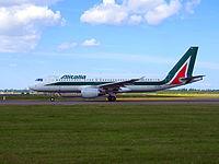 EI-DTH - A320 - Alitalia