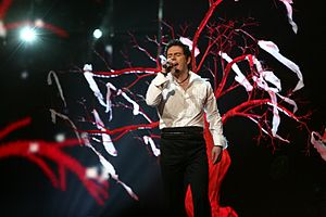 Armenia in the Eurovision Song Contest - Image: ESC 2007 Armenia Hayko Anytime you need