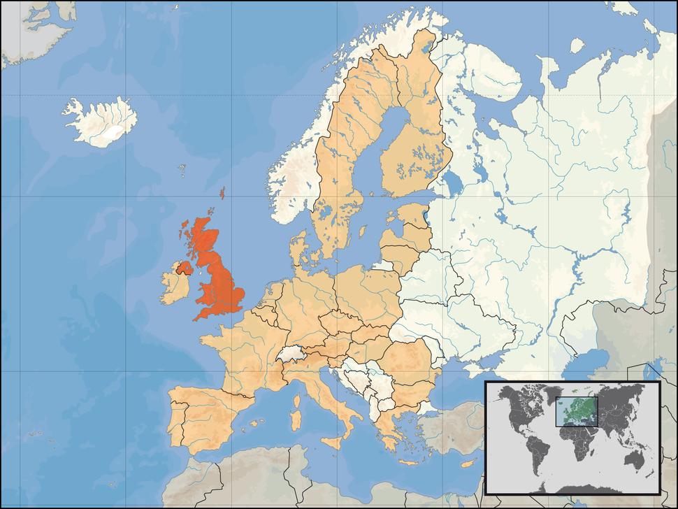 EU location UK