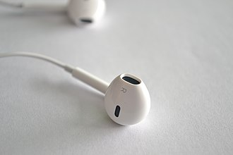 IPod - Image: Ear Pods derecho