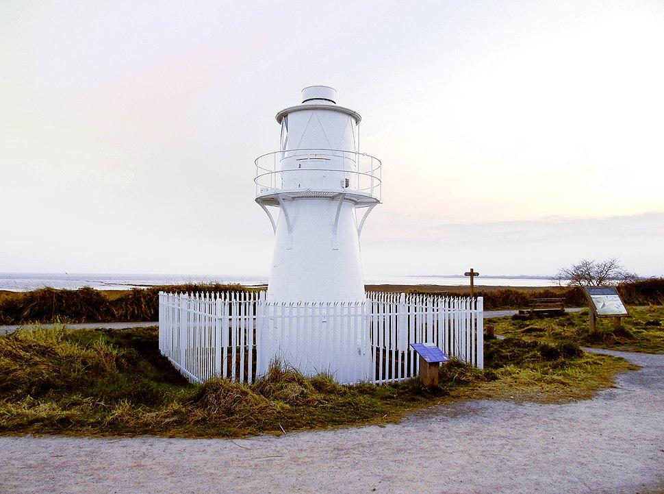 East Usk Lighthouse at Newport Wetlands RSPB Nature Reserve