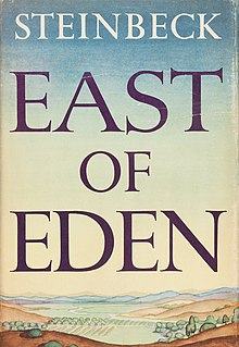 East of Eden (1952 1st ed dust jacket).jpg