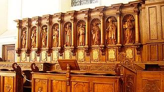 Church of Saint Maurice (Ebersmunster) - The choir stalls