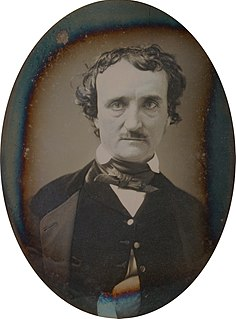 Edgar Allan Poe 19th-century American author, poet, editor and literary critic
