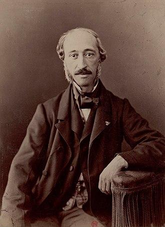Edmond Becquerel - Image: Edmond Becquerel by Nadar