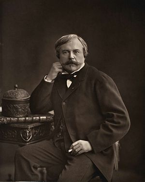 Edmond de Goncourt - Edmond before 1877 by Nadar.