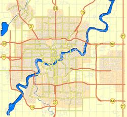 Enoch Alberta Map