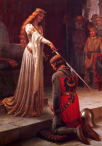 Edmund Blair leighton accolade