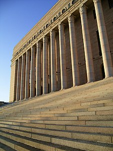 Eduskuntatalo, a finn parlament főépülete