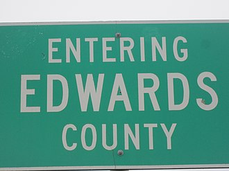 Edwards County, Texas - Image: Edwards County, TX marker IMG 1850