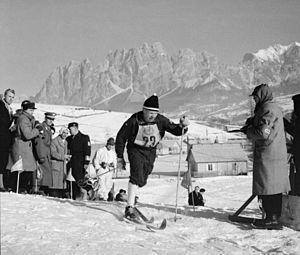 2013 in Finland - Eero Kolehmainen at the 1956 Winter Olympics