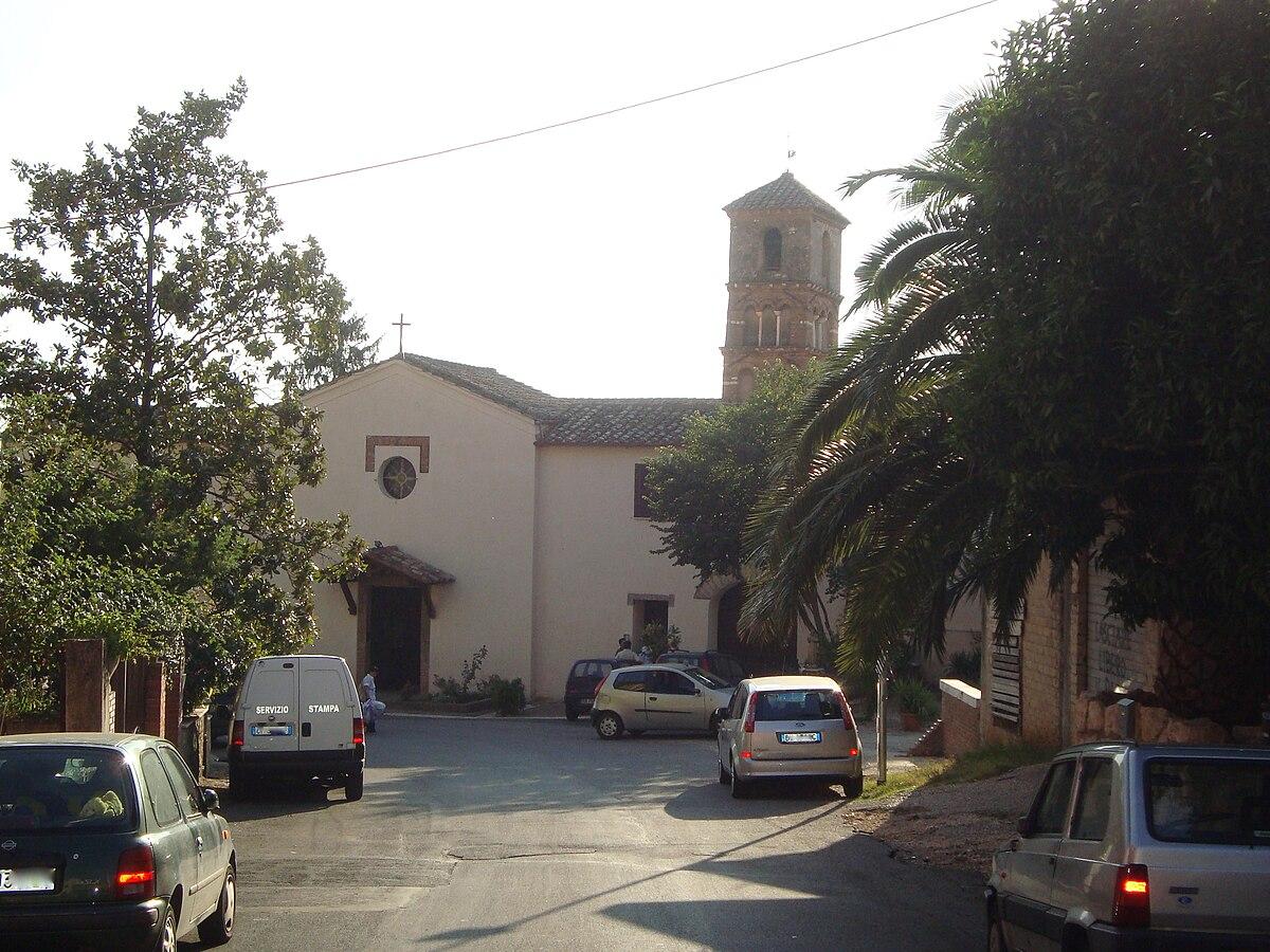 Santuario della Madonna delle Grazie (Marcellina) - Wikipedia