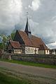 Eglise de Champ-Dolent, vue du nord ouest.jpg
