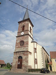 The church in Vittersbourg