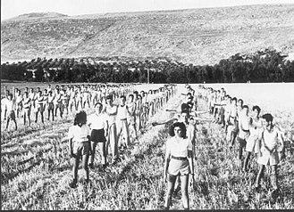 Ein Harod - Palmach training at Ein Harod, 1947