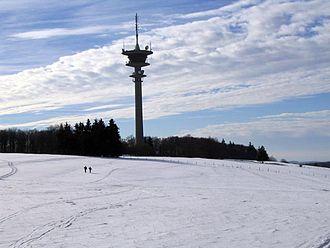 Neuenstein, Hesse - Eisenberg in winter