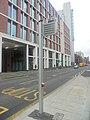 Electronic bus stop, Wellington Street, Leeds (1st February 2020).jpg