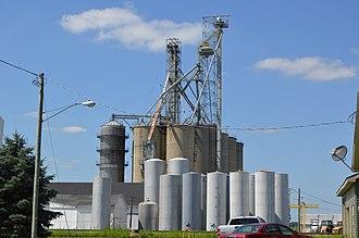 Elgin, Ohio - Grain elevator